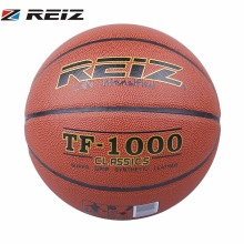 REIZ Basketball Official Size 6 Synthetic Leather Rubber Practice Indoor Outdoor Ball Game Training Basketball Sports TF-1000(China)