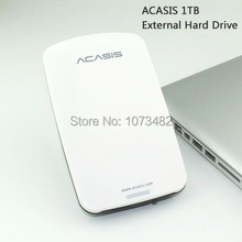 Free shipping On Sale 2.5'' ACASIS Original USB2.0 HDD 1TB Mobile Hard Disk External Hard Drive 1000GB Power switch Good price(China)