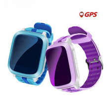English Russian Smart Watch For Children GPS WiFi Locator Tracker SOS Call SMS Support SIM Card Kids Smartwatch Android F42(China)