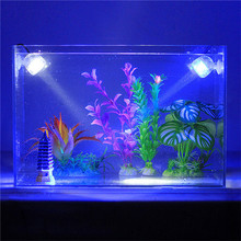 2016 New Aquarium Light RGB Submersible Spotlights Garden Pond Pool Underwater Bulb Fish Tank Lamp