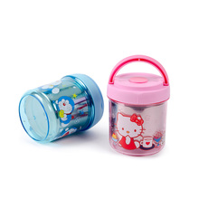 Hello kitty cartoon hold lunch box student school lunch box