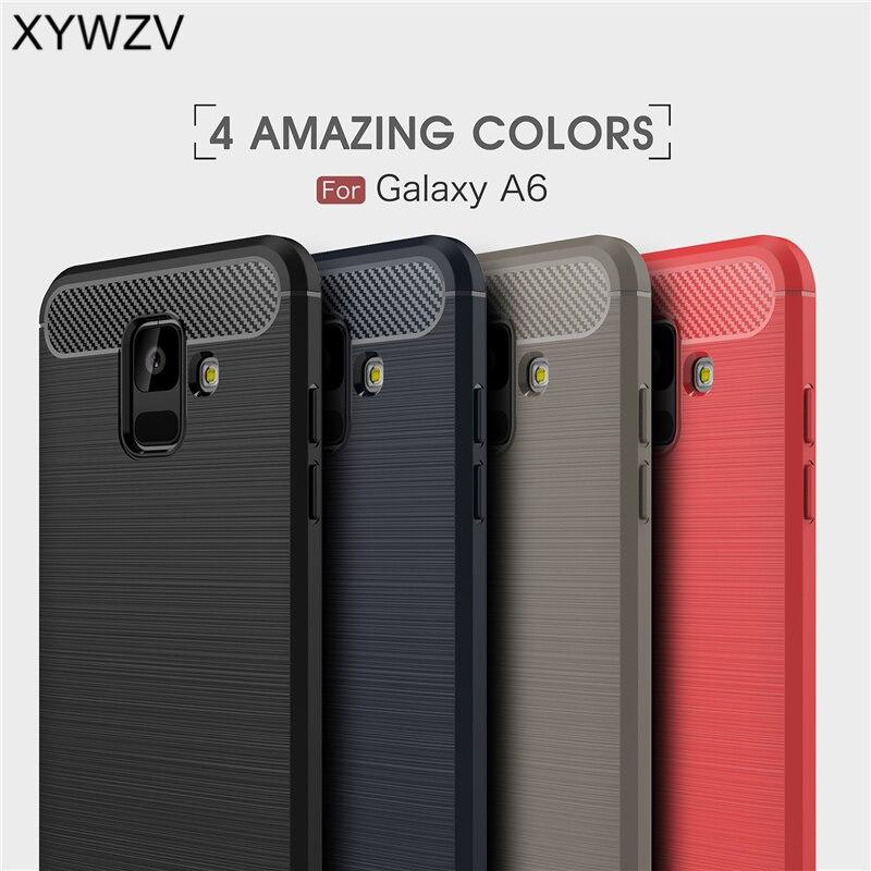 Cover For Samsung Glaxy A6 2018 Case Luxury Rubber Phone Case For Samsung Galaxy A6 2018 Cover For Samsung A6 2018 Coque Fundas