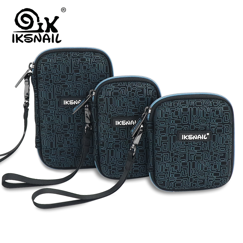 Ugreen Shockproof EVA Hard Drive Case Protective Bag Fr 2.5 inch HDD SSD SD Card