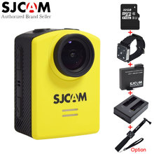 Original SJCAM M20 Wifi Action Camera Gyro Waterproof 30M Mini Sport Camcorder with Battery,Charger, Remote Control Watch Option