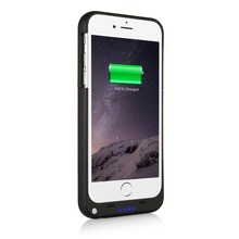 3200Mah New Portable External Battery Case For iPhone7 ip7 8 Extra Battery Charger Case For iPhone 7Plus 4000mah Power Bank Case(China)