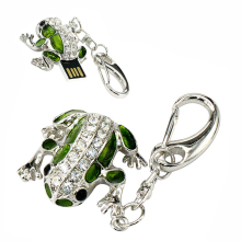 Cool Frog Usb Flash Drive High Speed 16GB 32GB 64GB Pen Drive Memory USB Stick 128GB Pendrive Flash Drive U disk