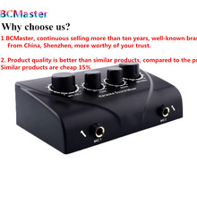 Karaoke Echo Mixer Sound Music Musical Echo Mixer Black PC TV Amplifier