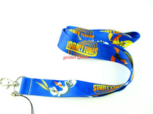 Wholesale 10 Pcs popular anime cartoon Bugs bunny Neck Straps Lanyards Mobile Phone,ID Card,Key Condole belt Mixed L230
