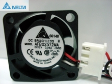 Delta AFB02512MA 2510 25mm DC 12V 0.06A Dual ball 3-P axial mini micro cooling fan
