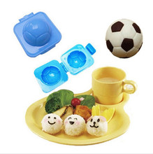 New Hot 1 PCS Round Rice Mold  Ball Football Shaped Sushi DIY Tools Egg Stamping Mold  Free Shipping 0113