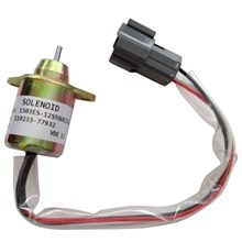 Mayitr 1 PC New DC 12V Fuel Shut Off Solenoid Shut Down Stop Solenoid Valve 119233-77932 for Yanmar John Deere Tractor(China)
