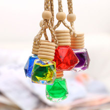 BU-Bauty New arrive 5color 1pcs Creative Air Fresheners Fragrance Essential Oil Diffuser Car Hanging Perfume car styling