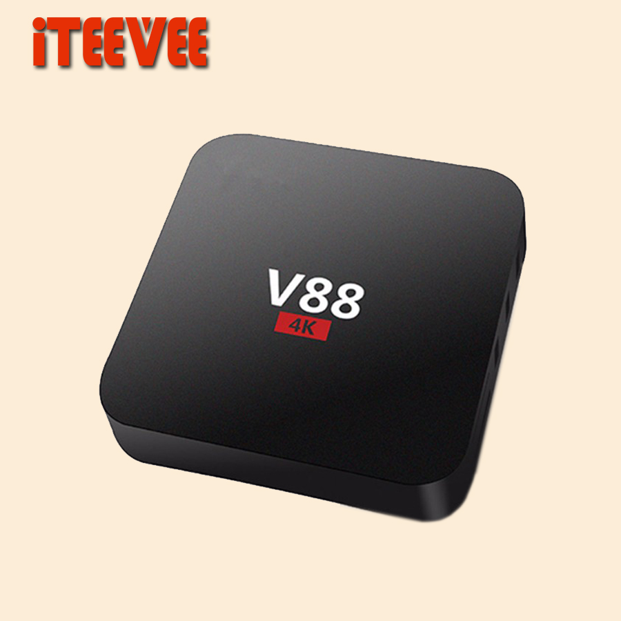 V88 Android 5.1 TV Box RK3229 1G 8G 4 USB 4K x 2K WiFi DLNA Media Player KODI SET TOP BOX(China (Mainland))