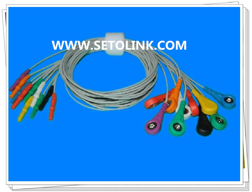 HOLTER ECG CABLE 10 LEADWIRES<br><br>Aliexpress