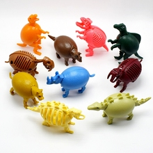 Novetly The deformation of Dinosaur skeletons godzilla Animal eggs models Action & Toy Figures dragon ball for kid gift(China)