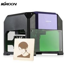 KKmoon 1000mW Miniature Laser Engraving Machine Carving Engraver Carver AC100-240V Automatic DIY Handicraft Wood Burning Tools