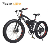 "PASION E BIKE 36V 500W powerful electric fat bike 36V Lithium Battery E bicycle 26""X4.0 Off road Electric bicycle mountain bike(China)"