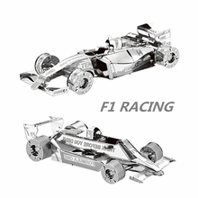Formula Car F101 1:50 3D Puzzles Nano Metal Model Sports Car F1 Racing Diy Creative Gifts Chinese Iconx New Styles Jigsaw