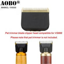 Original Professional Pet Clipper Trimmer Blade For Dog Cat Cattle Rabbits Grooming Supplier For AOBAO VS888(China)