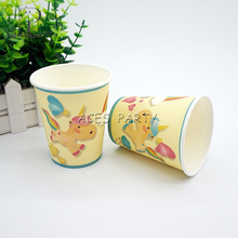 Party supplies 48PCS Unicorn Cute Pony theme party decoration disposable tableware one-off paper cups cup glass glasses(China)