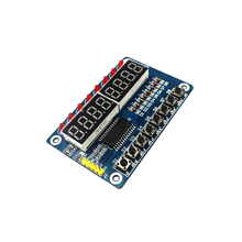 Smart Electronics 8-Bit Digital LED Tube 8-Bit TM1638 Key Display Module for arduino DIY KIT