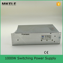 S-1000-24 40A high power AC to DC small size dc 24v power supply low price power supply 24v 1000w with ce certification(China)
