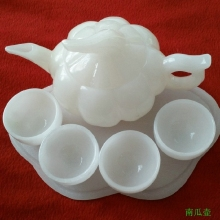Free delivery of Chinese jade Afghan jade tea natural white wine(China)