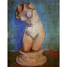 High quality Vincent Van Gogh paintings for sale Plaster Statuette of a Female Torso 2 Canvas art hand-painted