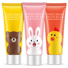 3pcs/lot Cartoon Hand Cream Cute Fruits Perfumed Moisturizing Anti Aging Whitening Anti-Chapping Hands Cream Hand Lotions Smooth