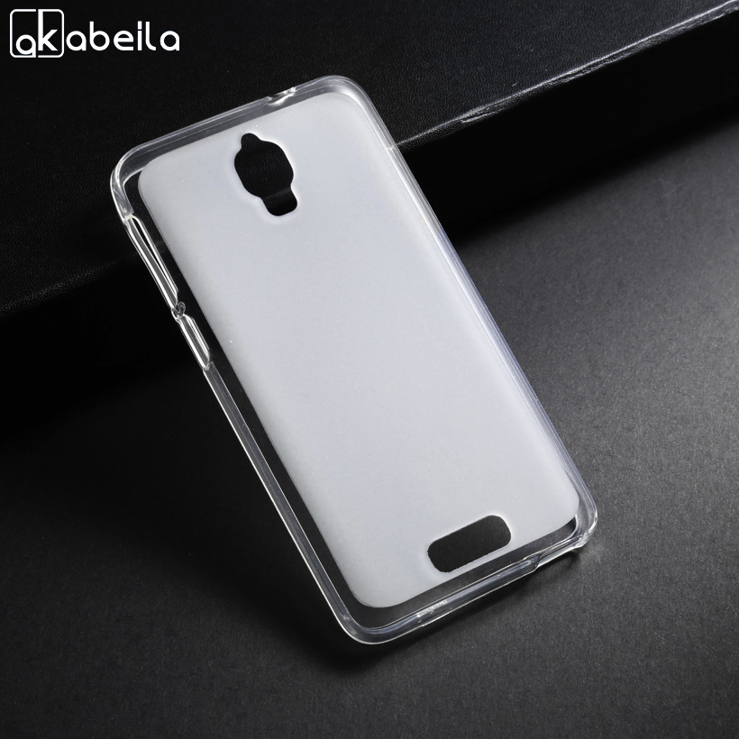 AKABEILA Silicone Soft Cases Lenovo S660 S668T Lenovo S820 S850 TPU Case Back Cover Lenovo S850 S850T S 850 Phone Cases