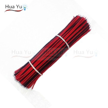 (40PCS) 30CM 2pin wire cable, Red black wire, AGW22 thinned copper wire, Electronic cablb, extend wire for CCTV, Sound, power(China)