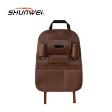 2017 New Car Seat Storage Bag Hanging Bags Auto Seat Back Protective Covers Car Product Multifunction Pocket Vehicle Storage Box(China)