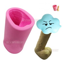 Buy 3D Willy Penis Hens Sugercraft Shape Fondant Mold Silicone Ice Chocolate Cake Decorating Topper Jellies Soap DIY Tools Funny