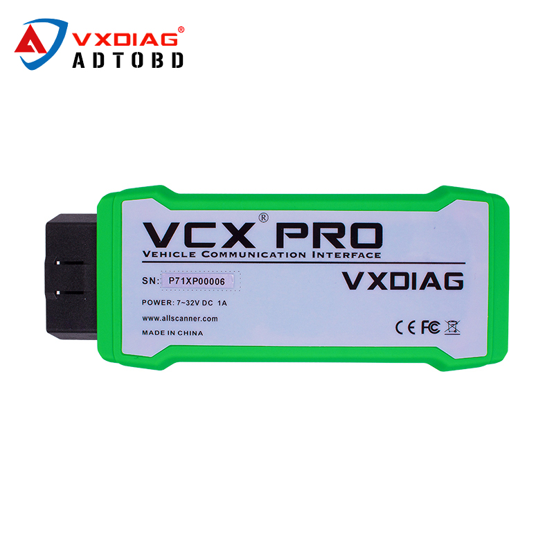 hot sales ALLSCANNER VXDIAG MULTI Diagnostic Tool For GM Ford/Mazda/VW/Land Rover/Jaguar etc vcx nano pro 3 in 1 free shipping(China)