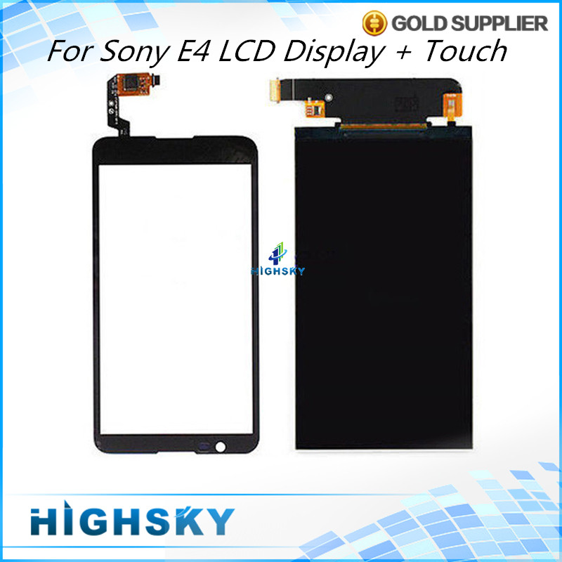 Replacement Parts For Sony Xperia E4 LCD E2104 E2105 E2115 E2124 Display Screen Panel + Touch Screen Digitizer 1 pcs<br><br>Aliexpress