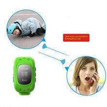 personal gps tracker chips smart watch wrist watch gps tracking device for kids(China)