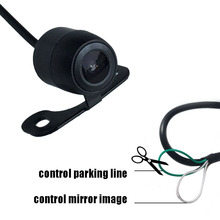thehotcakes Promotion Mini CCD HD Night Vision Car Rear View Camera Front Camera Front View Side Reversing Backup Camera(China)