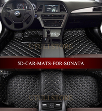 Car floor mats for Hyundai Sonata  Hybrid 2003-2017 3D custom fit car styling all weather carpet floor liners foot mats