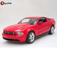 1/24 Scale 2011 Ford Mustang GT Diecast Alloy Car Model W Openable Doors Toy For Kids gift Collection Decoration