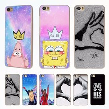 Spongebob Queen Princess Best friends style clear phone shell Case for Xiaomi Redmi Note 3 Note4 3 3s 4 4A Mi 4 5 5s(China)