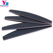 4Pcs 100/180 Professional Nail Files Sanding Buffer Crystal Nailfile Block Pedicure File Bufffing Double Side Art File Tools