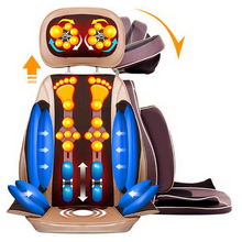 111217/ Home Office Full-Body Massage Cushion. Back Neck Massage Chair Massage Relaxation Car Seat. Heat Vibrate Mattress