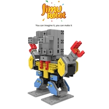 Newly DIY Electric UBTECH Jimu 3D Programmable Creativity DIY Robot Kit For Puzzle Assemble Robot Educational Toys Gift For Kids(China)