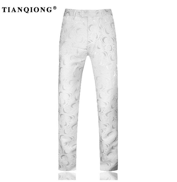 HTB1UUwASXXXXXXUXFXXq6xXFXXXT - TIAN QIONG Suit Men 2017 Latest Coat Pant Designs White Wedding Tuxedos for Men Slim Fit Mens Printed Suits Brand Men Clothing