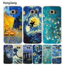 HongJiang Vincent Van Gogh Starry Sky cell phone case cover for Samsung Galaxy Note 3,4,5 E5,E7 ON5 ON7 grand prime G5108Q G530(China)