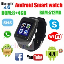 2017 Original Smartwatch S8 3G SIM Phone Smart Watch Android System Dual Core 3MP Camera WCDMA GSM GPS TF Support Wifi Bt 4.0(China)