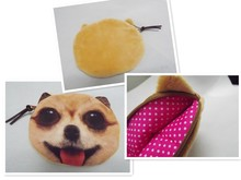 Coin Bag innovation Character Dog Design(China)