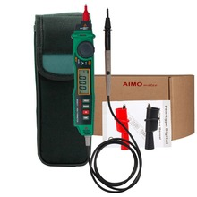Aimometer MS8211 Digital Pen Type Multimeter Multitester Handheld Meter DMM Non-contact Voltage NCV Detector