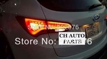 , CHA FOR 2013-UP SANTA FE IX45 LIGHT GUIDE CAR LED TAIL LIGHT/REAR LAMP ASSEMBLY V2