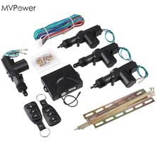 MVpower  Universal Car Auto Remote Central Kit Door Lock Locking Vehicle Keyless Entry System New With Remote Controllers